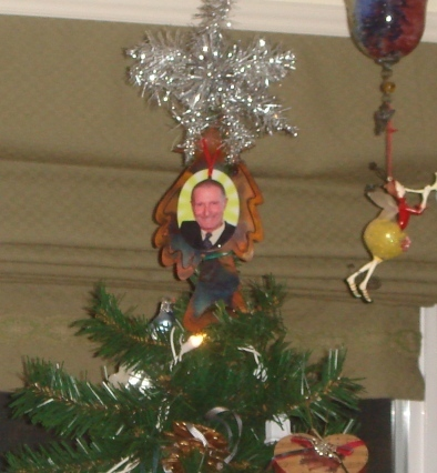 An angel on our tree